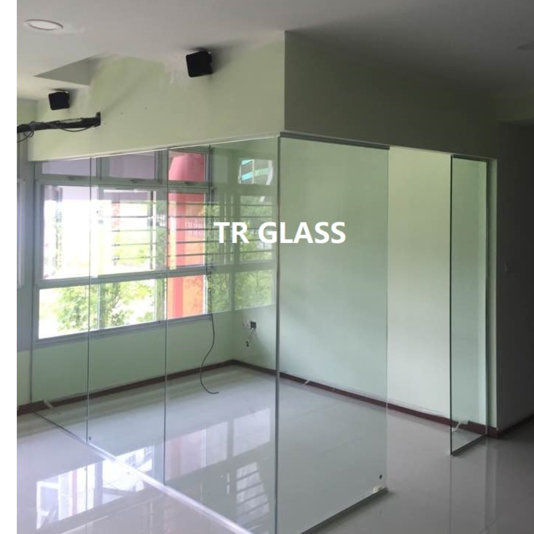 Glass Partition Quote By Request Furniture Home Decor On Carousell
