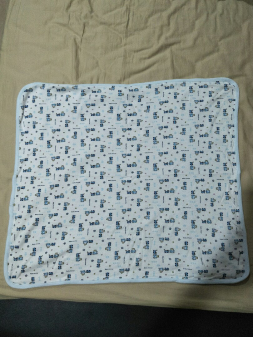 Thin baby blanket