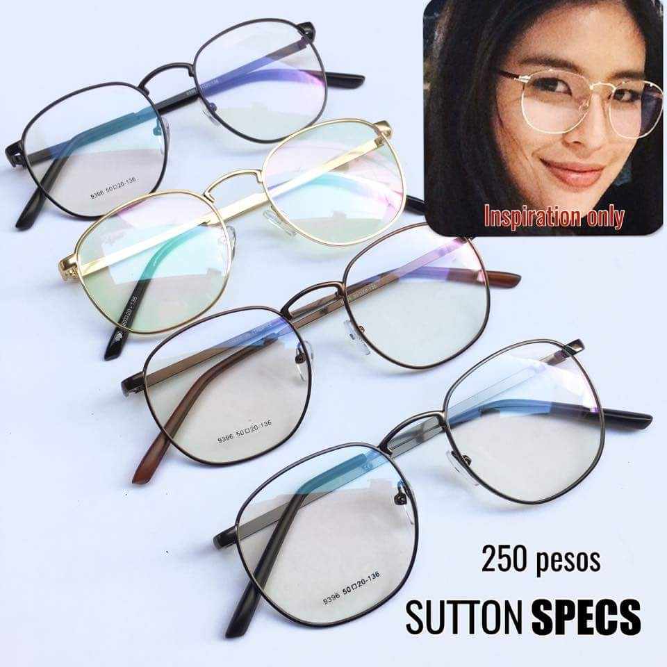 f9a10e62cf8 Trendy Glasses Frame (FREE POUCH AND WIPER)