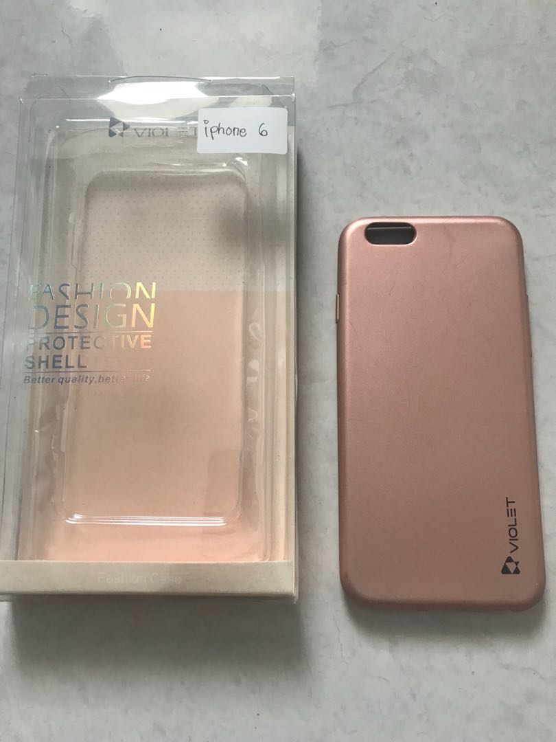 Violet case rosegold for iPhone 6 83db6bb3f2
