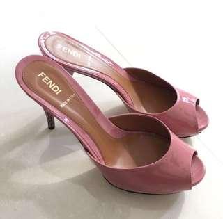 Real Fendi Nice Shoes 靚粉色 not lv ferragamo miu miu chanel RV Roger vivier