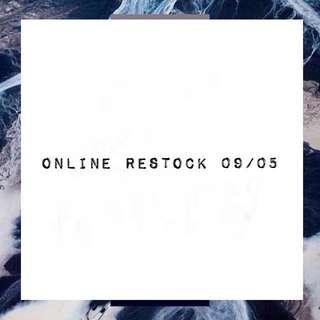 ONLINE RESTOCK!