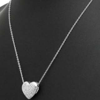 Swarovski Heart Shape Necklace Brand new item. A Gift From Friend.