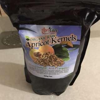 Organic apricot seed b17