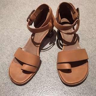 Hermes Leather Sandals (37)