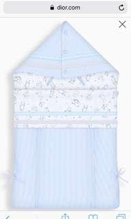 Baby Dior Bunting Bag & hat