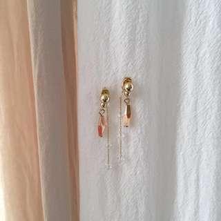 Korean Multi-way Crystal Dangle Ear Jacket Earrings