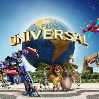 Universal Studio Singapore - 8 single use express pass (for use on 16 Jun 2018)