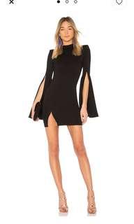 Long sleeve body con mini dress