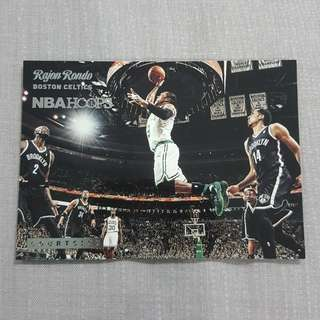 Legit 2014-15 Panini Hoops Courtside Rajon Rondo NBA Card