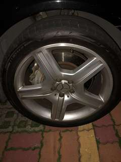 S63 AMG Tyre, Rim and Brakes set