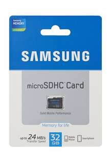 Authentic 16gb Samsung Memory Card