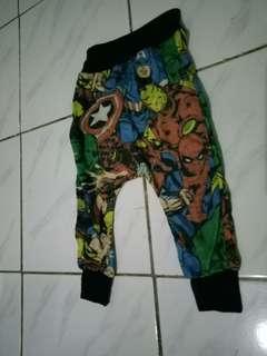 Celana superhero 6 mo-1yo