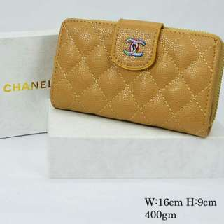 Chanel Wallet Apricot Color