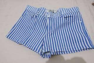 Striped Blue Pants