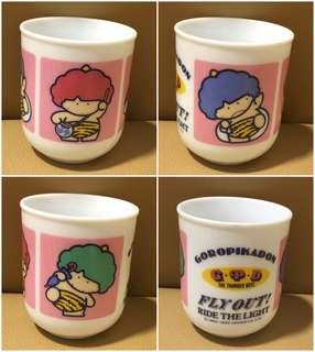 Sanrio Goropikadon 雷公 陶瓷茶杯 (全新未用過) 2.75 吋高 (** 只限北角地鐵站交收 **)