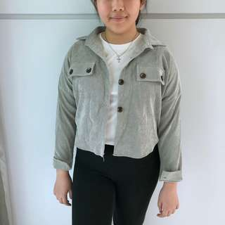 Grey Outer Wear