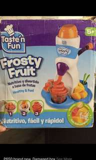 Frosty fruit maker (damaged box)