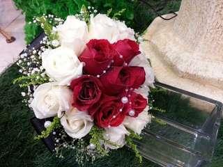 满天星🌟与18朵玫瑰🌹手捧花