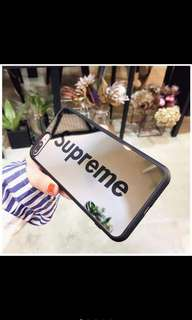 [PO] SUPREME Iphone Glass Case - For IPhone Models
