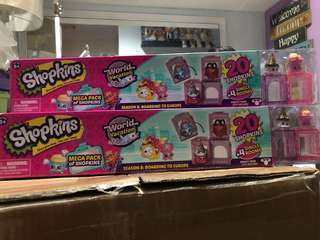 Shopkins from US P650each mall price:1k