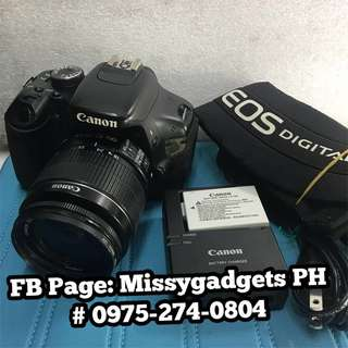 Canon eos 600d DSLR with 18-55mm kit and accessories (2ndhand)