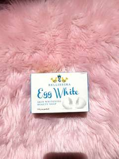 Bellisima Egg White Skin Whitening Soap