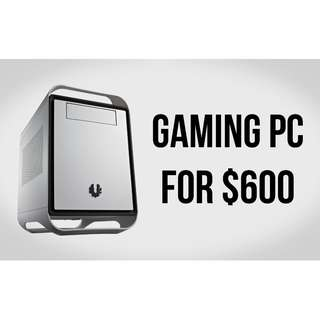 BUDGET GAMING PC AMD