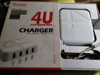 Yoobao Rapid Universal Charger 4USB