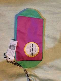 Starbucks small pencil case/pouch