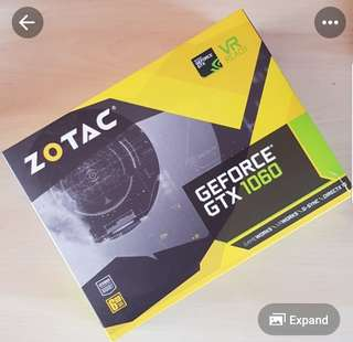 NVIDIA ZOTAC GTX 1060 6GB MINI
