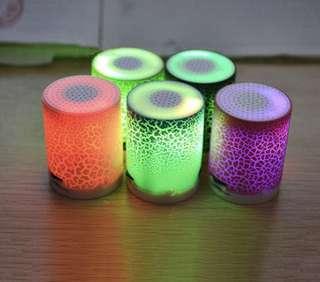 LED Speakers- Portable and Sleek!