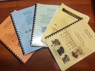 HwaChong JC,HCJC Biology/Bio textbooks (complete)