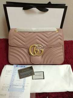 🔥Ready stock🔥Gucci Marmont 31cm