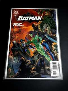BATMAN #619 VILLIAN GATEFOLD VARIANT (HUSH ARC)