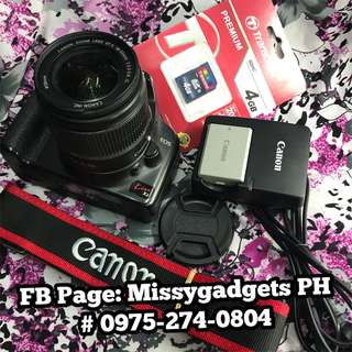 Canon kiss X2 or 450d DSLR with 18-55mm kit and accessories (2ndhand)