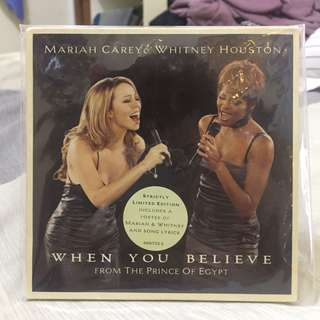 Mariah & Whitney - When You Believe (Strictly Limited Edition)