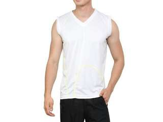Muscle shirt V-neck