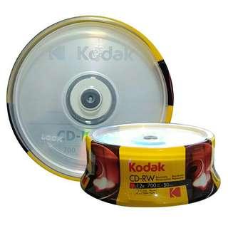 CD-RW Kodak 700mb (Sold By 50's)