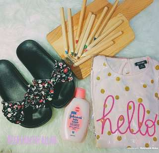Girls set and shoes