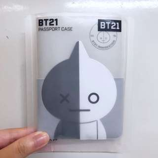 BTS BT21 VAN Passport Case