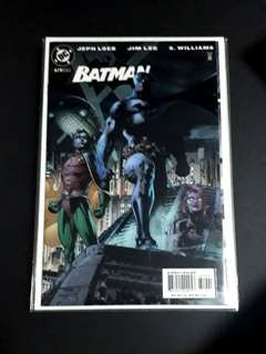 BATMAN #619 FAMILY GATEFOLD VARIANT (HUSH ARC)