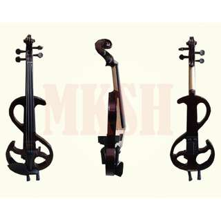 Mozart 4/4 Electric Violin (Black)