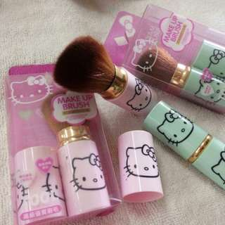 Hello Kitty makeup brush with cover