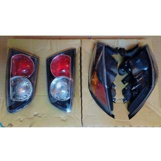 Tail lamp Complete Black Base Inspira, Lancer GT