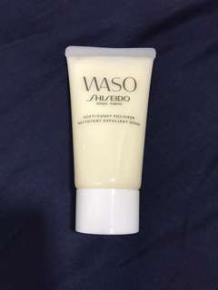 WASO Price reduced to 22.90!! Shiseido Waso Nettoyant Exfoliant Duox