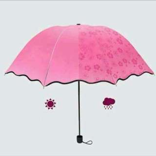 MAGIC FOLDING WINDPROOF FLOWERING UMBRELLA