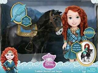 Merida & Rapunzel with horse take all