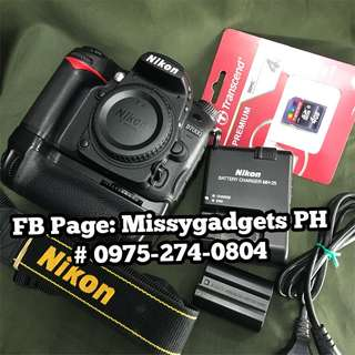 Nikon D7000 DSLR body only with batterygrip and accessories