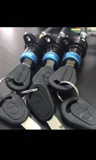 Escooter escooter ebike key switch
